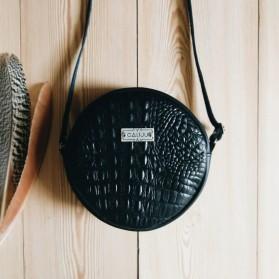 SUN Bag Cocodrilo Negro